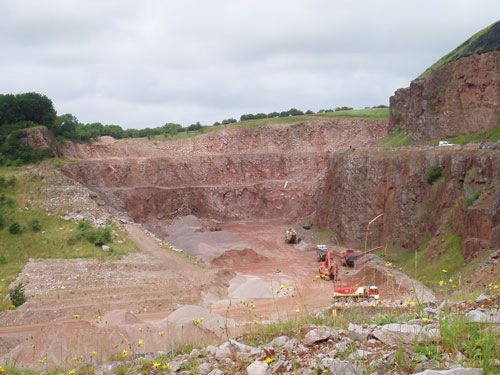Goldmire Quarry (Image Credit: Cumbria CC)