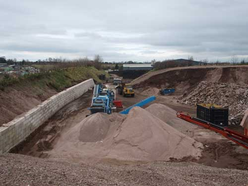 Hollybush Recycling Centre (Image Credit: Staffordshire CC)