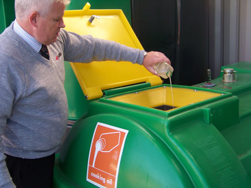 Used cooking oil from HRCs in Wiltshire makes 'green' energy