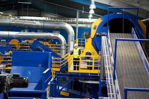 Shanks opens new £7m recycling facility in Kettering