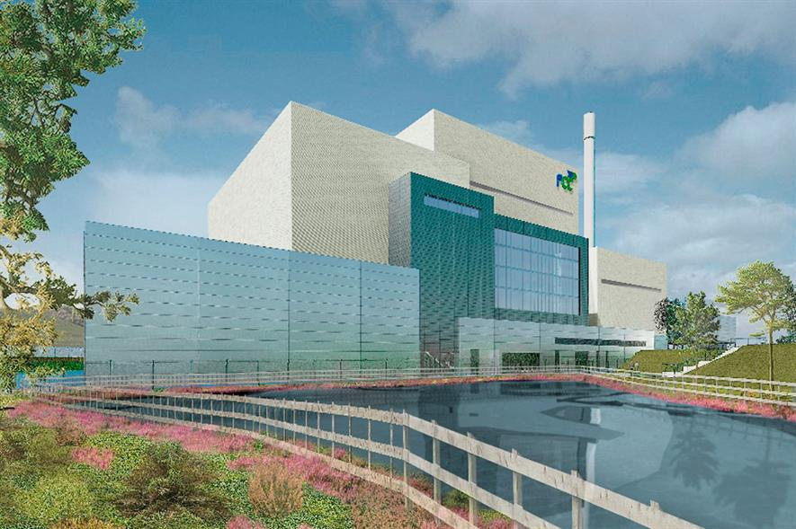 FCC Environment's proposed energy-from-waste plant would process up to 300,000 tonnes of residual waste each year