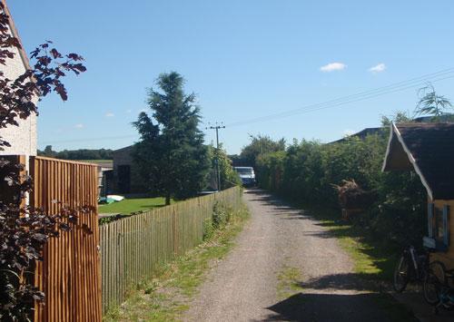 Green Lane (Image Credit: Staffordshire CC)