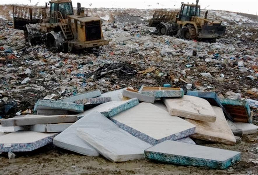 Less than 1% of mattresses in Scotland are collected for recycling