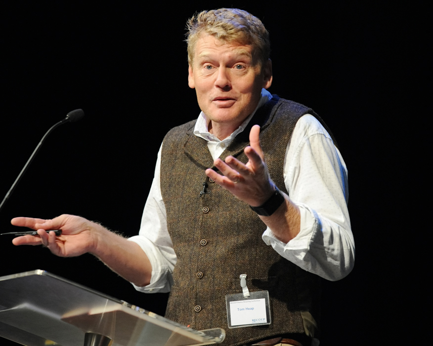 Countryfile's Tom Heap asked what progress the sector had made in the last year. Photograph: Recoup