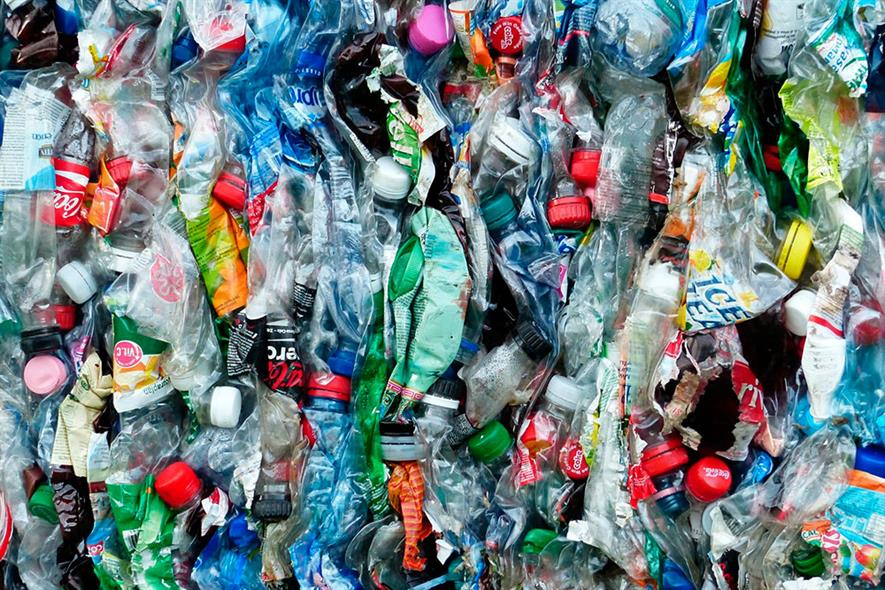Waste plastic: options running out for exporting waste. Photograph: Pixabay