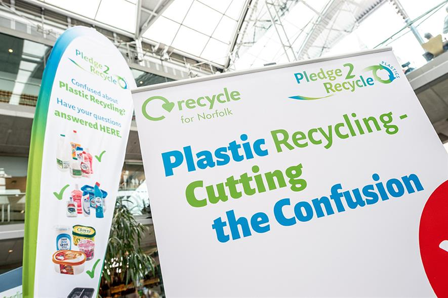 Recoup's Pledge2Recycle Plastics arm engages with community groups to inspire action. Photograph: Recoup