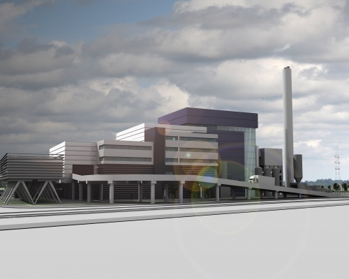 The facility will save around 95,000 tonnes of CO2. Picture: Peel Environmental