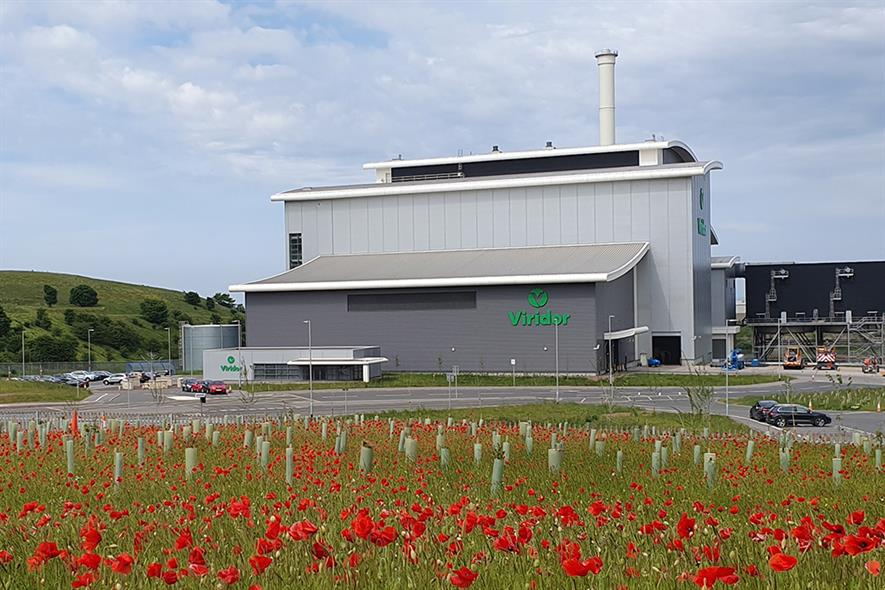 Viridor's plant would have the capability to reprocess up to 85,000 tonnes of recycled plastic annually