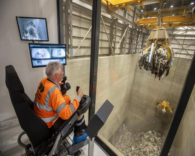 Waste treated at the Millerhill facility will generate electricity for 32,000 households and businesses