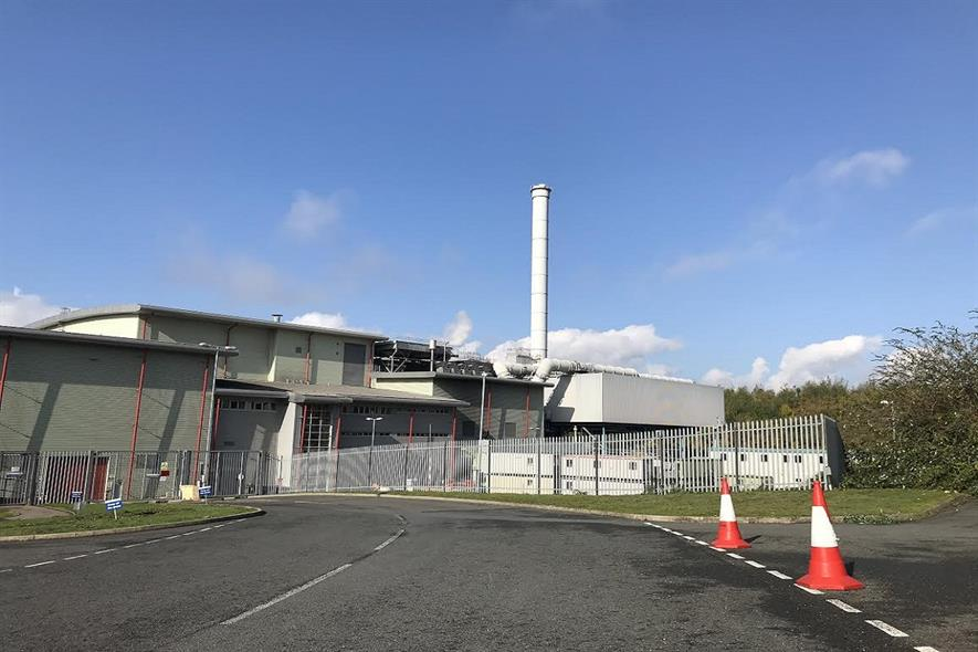The EfW plant, image copyright endswasteandbioenergy.com