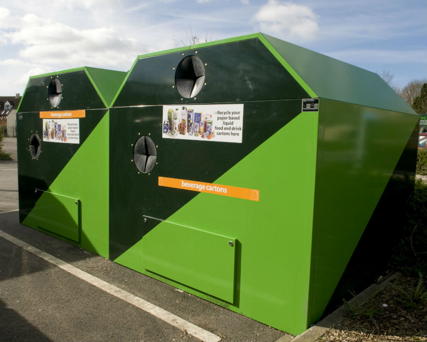 The groups aim to speed up recycling of paper cups. Picture: ACE UK
