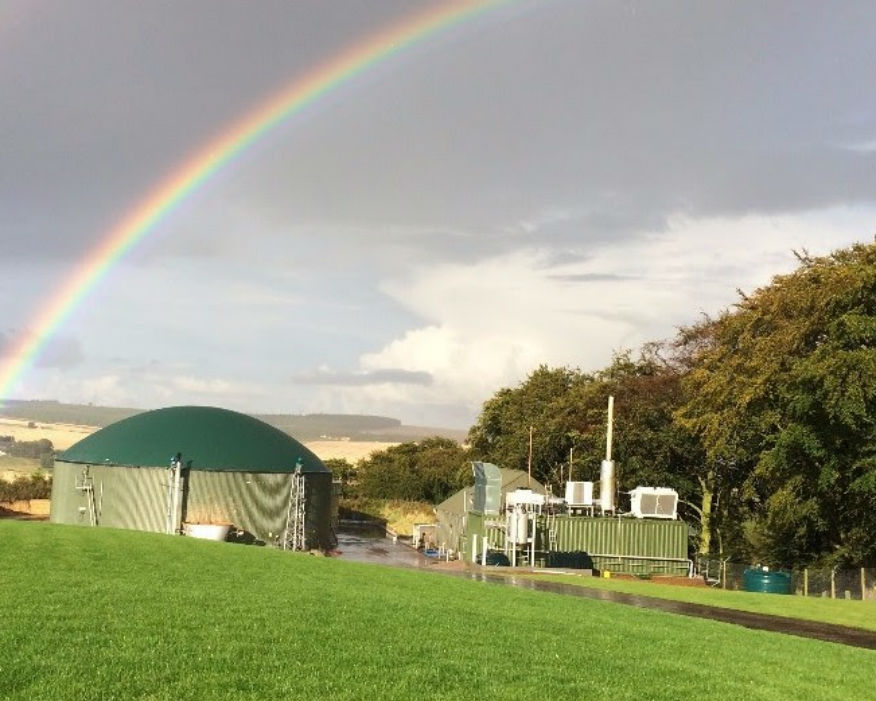 BioGask's AD plant near Turriff, Aberdeenshire: Picture Biogask