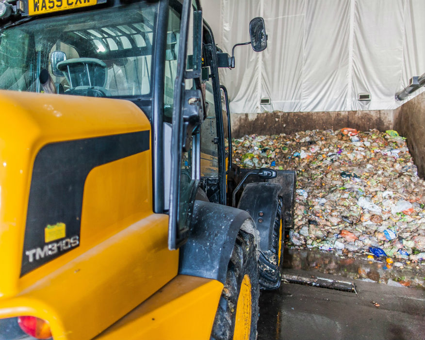 Households in the county sent 588 tonnes of food waste to be recycled. Picture: Andigestion