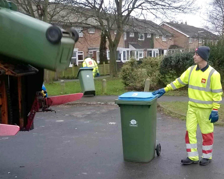 Biffa has done household recycling and waste collections in Arun for 14 years. Picture: Biffa
