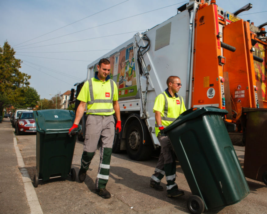 Waste collectors face 30,000 incidents of dangerous driving a month. Picture: Biffa