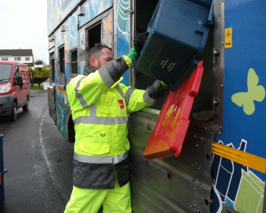 Isle of Anglesey was one of the first councils to go to three-weekly collections. Picture: Biffa