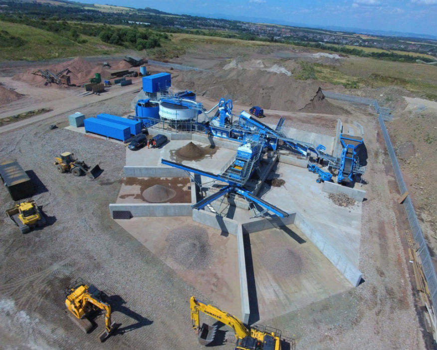 UK's largest recycling plant features £3.8m of new equipment. Picture: Brewster Bros
