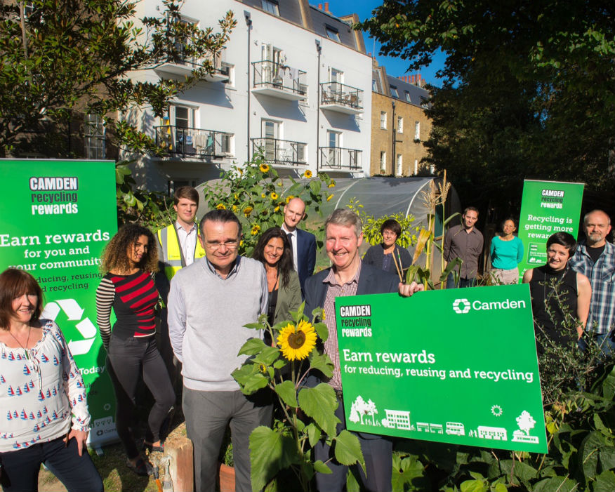 Residents will earn £10,000 for community projects for recycling. Picture: Camden Council