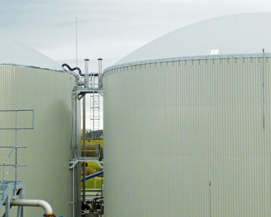 Clearfleau's completed AD plant at Lake District Biogas. Picture: Clearfleau