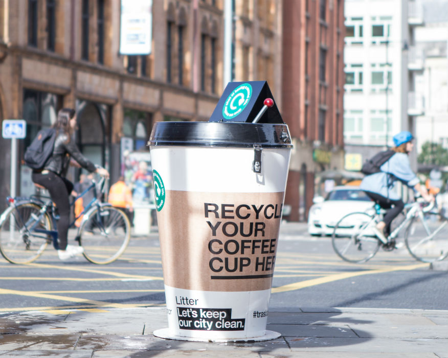 The MPs' call for a 25p latte levy has been criticised by industry. Picture: Hubbub