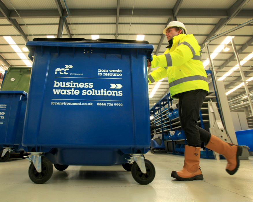 The chancellor raised recycling targets but ignored resource efficiency Picture: FCC