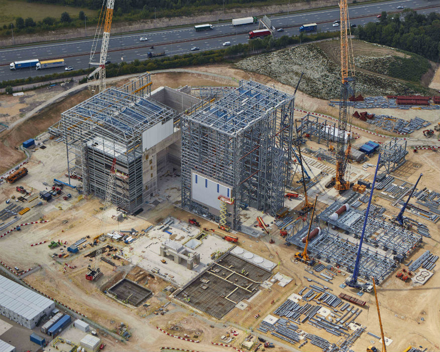 Wheelabrator is raising £207m for construction. Picture: Wheelabrator Technologies