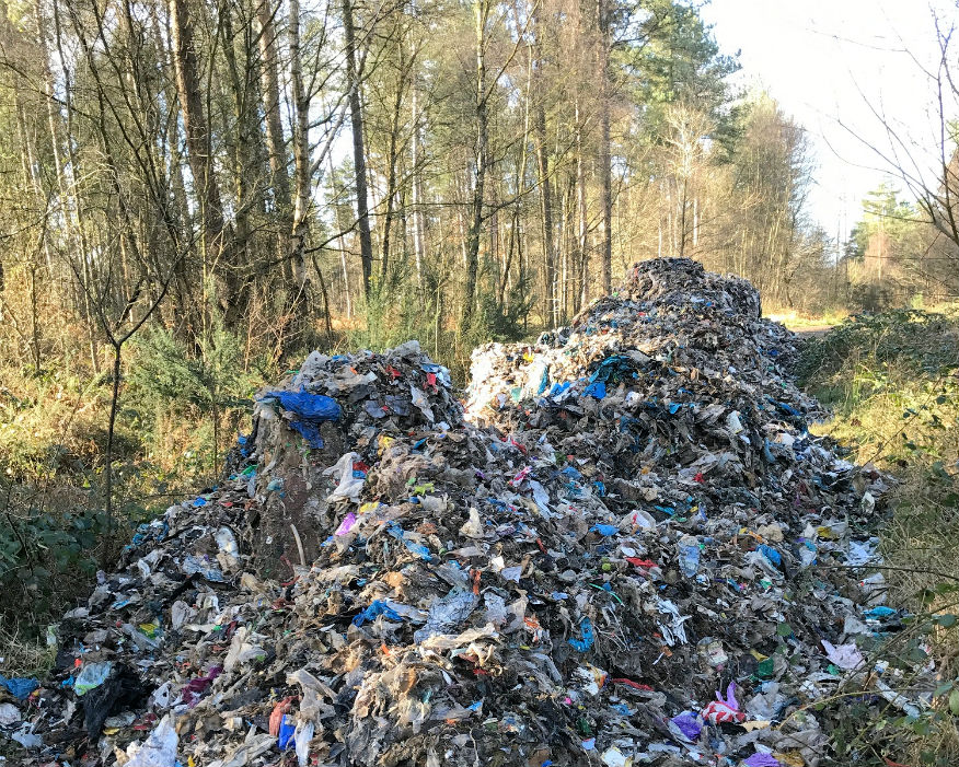 Councils dealt with over one million flytipping incidents last year. Picture: CLA