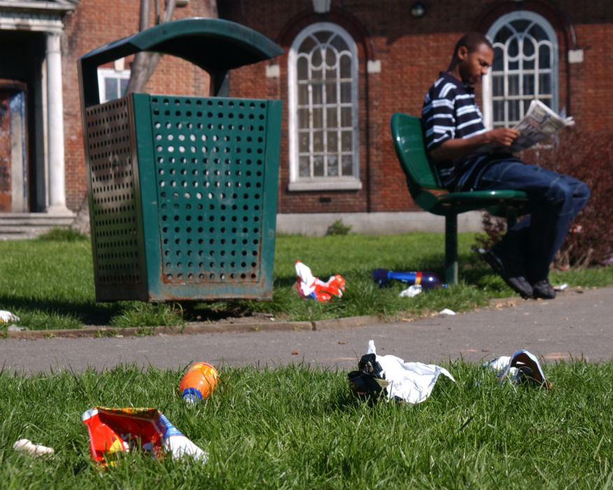 Maximum litter fines are to almost double to £150. Picture: KBT