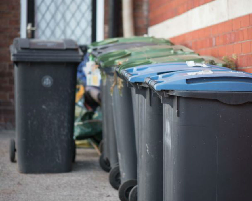 LGA found two-thirds of plastic food pots and trays were unrecyclable. Picture: LGA
