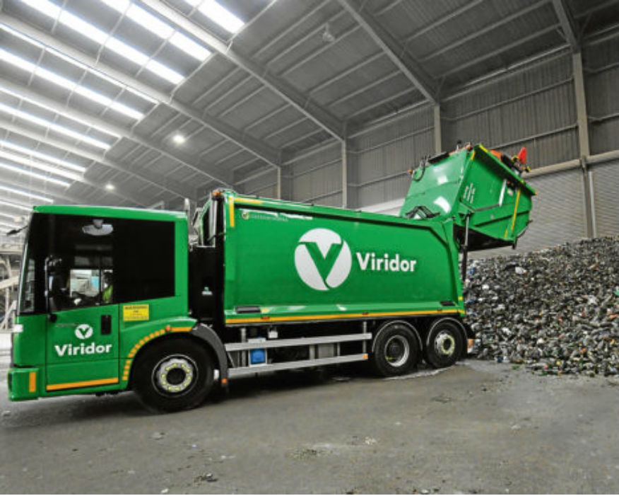 Estimated amount of waste glass for five authorities is 10,500 tonnes. Picture: Viridor