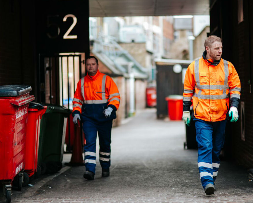 Oxford city's waste services will be run by a social enterprise. Picture: Oxford City Council