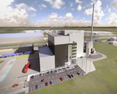 The energy-recovery plant will process up to 200,000 tonnes of waste. Picture: Wheelabrator