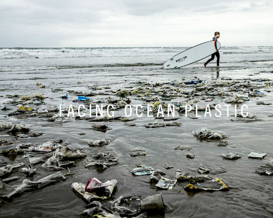 Stella McCartney is championing oceans clean from plastic. Picture: Parley for the Oceans