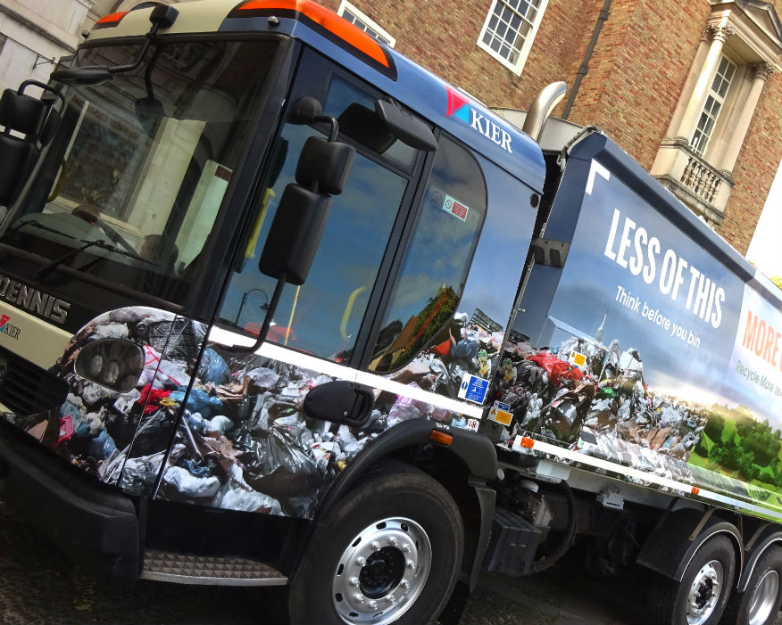 Somerset will align contracts to drive up recycling rates and cut service costs. Picture: SWP