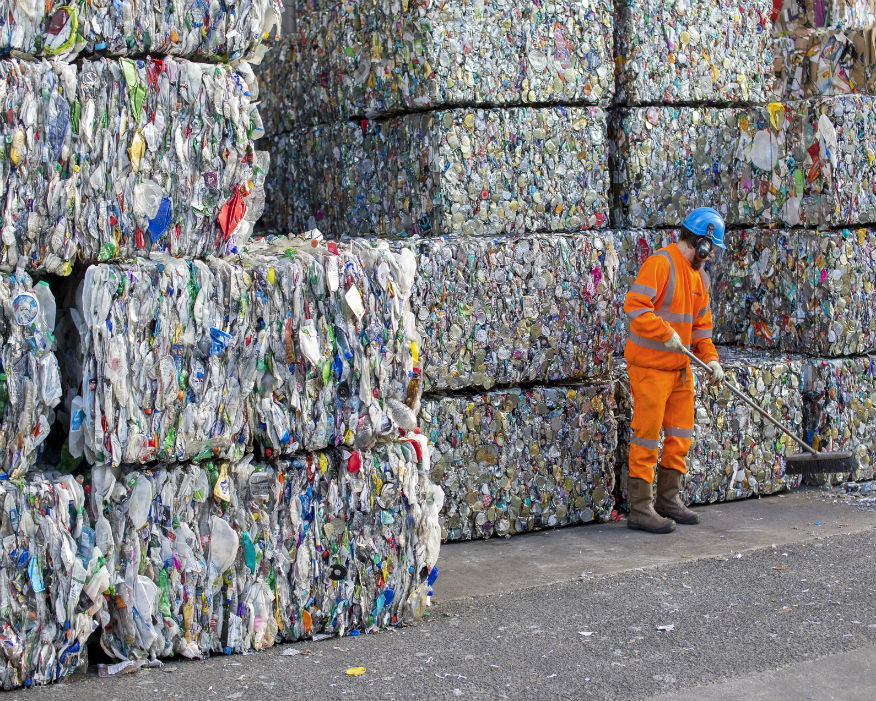 Firms selling single-use plastics face a new tax. Picture: Suez