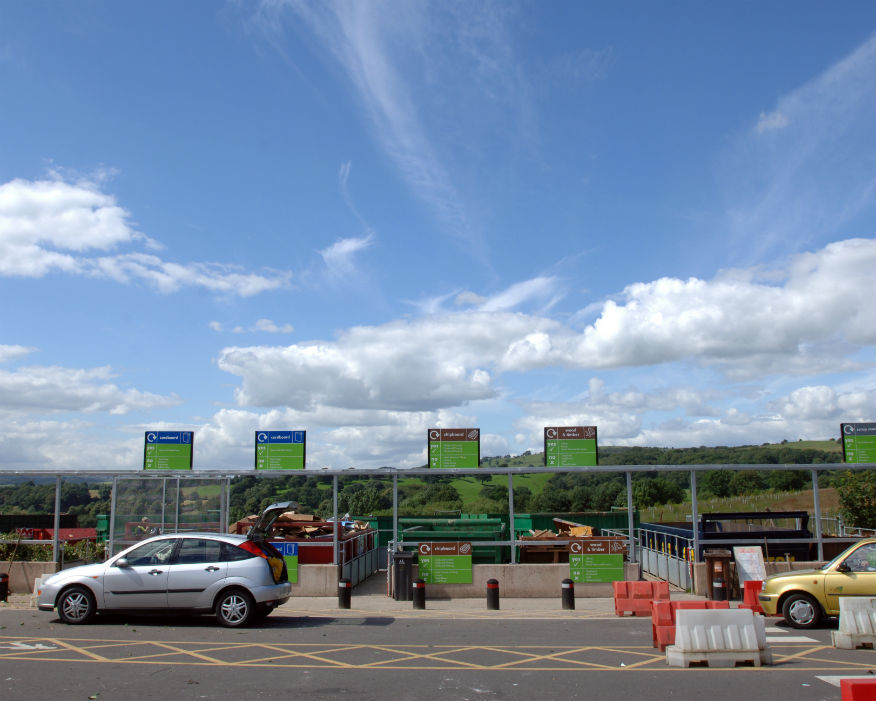 Hampshie wants to improve existing recycling rates across the county. Picture Veolia
