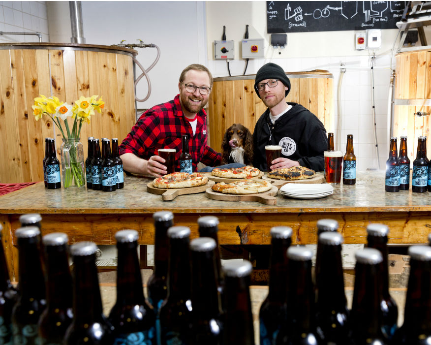 Aidan Canavan (left) and Simon Tardivel of Bute Brew Co  Picture: ZWS