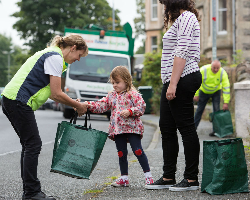 Isle of Bute became a Zero Waste Town two years go. Picture Zero Waste Scotland