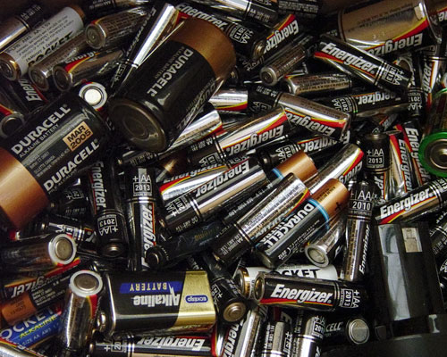 The UK has more than 40 compliance schemes to help WEEE producers meet their take-back obligations. Batteries are one of the products included. Credit: Moira