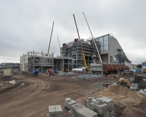 Trident Park is costing £233m to build and will operate from 2015. Picture: Viridor