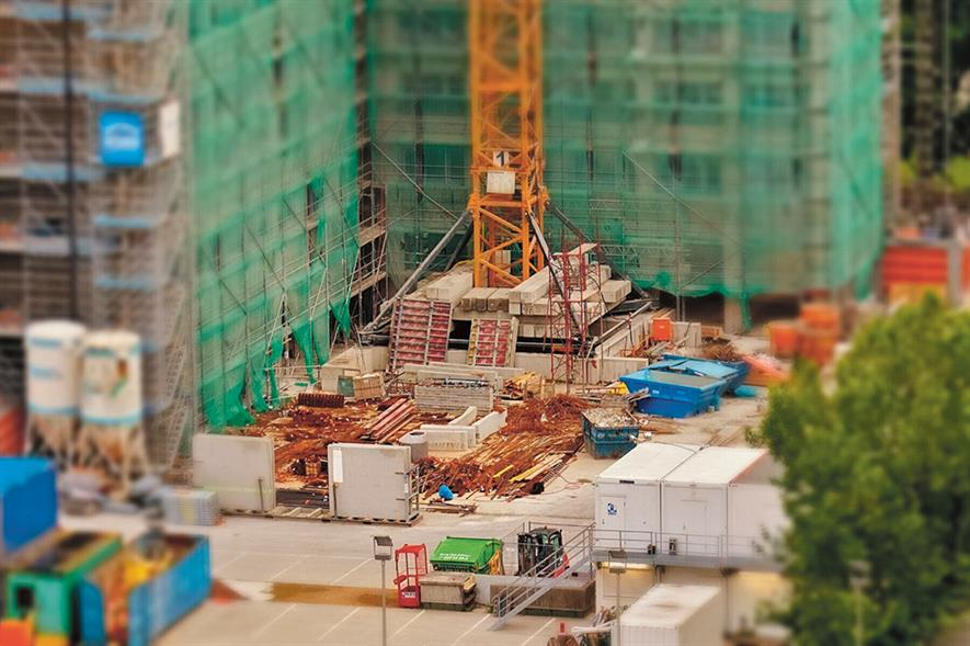 The construction industry has access to innovative technology to sort waste