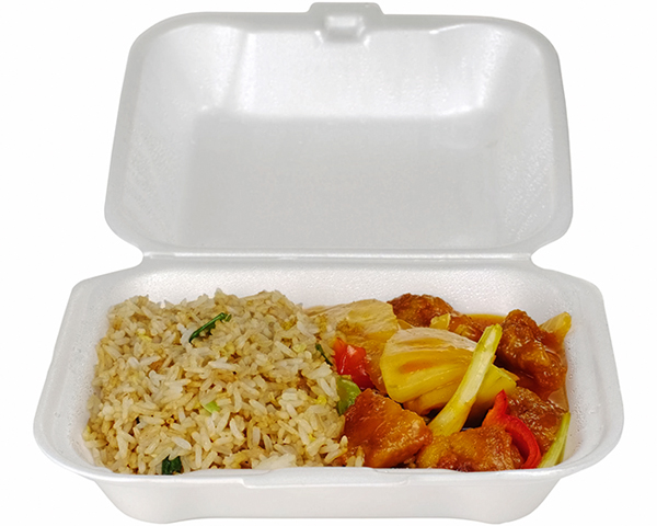 New York has banned expanded polystyrene in food takeaway containers. Photograph: Ildipap/123RF