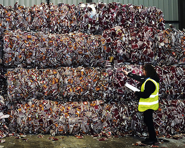 Costa's 2020 aim is to recycle 500 million cups. Photograph: Costa
