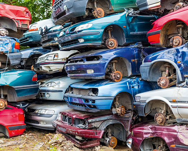 Carbon-fibre reinforced polymer cars may need to be recycled using alternative technology. Photograph: Anton Petrus/123RF