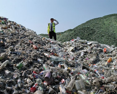 More than 80% of waste could be recycled (credit: Keep Britain Tidy)