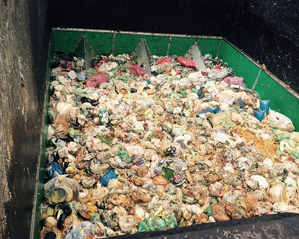 Food waste estimated at 1.6bn tonnes annually. Photo: ADBA