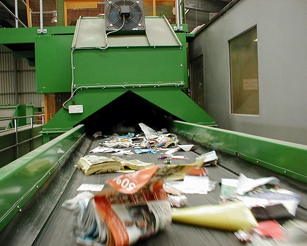 Government 'must act' to boost recycling rates. Photo: ESA