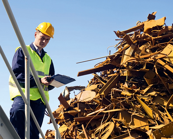 Accurate data on waste arising is crucial for planning for future capacity requirements. Photograph 123RF