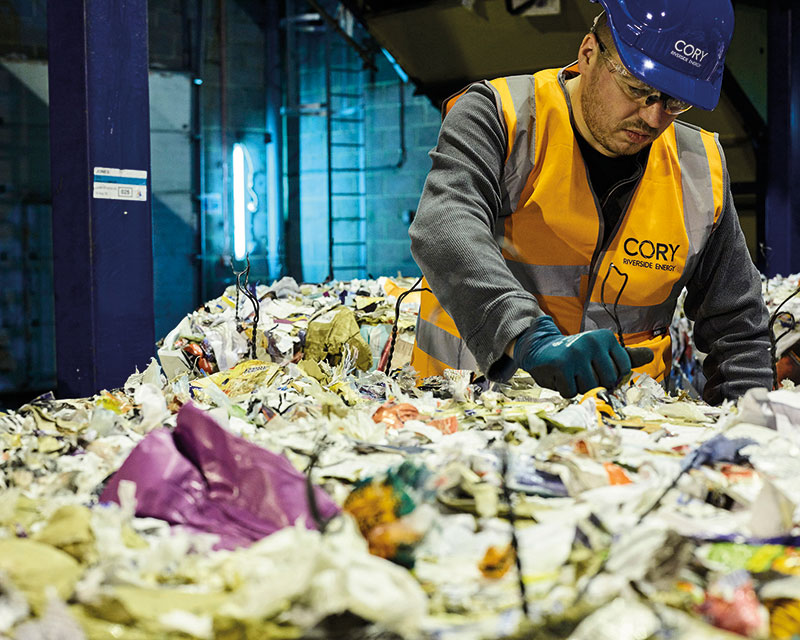 Resources and Waste Strategy  is DEFRA's first step to initiate new waste minimisation policies. Photo: CORY