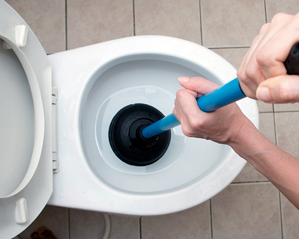 Blocked toilets cost the UK up to £88m a year. Photo:Initial Washroom Hygiene